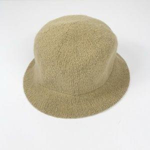 J Crew Womens One Size Cloche Bucket Hat Wool Mix